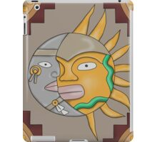 Mayan Sun & Moon iPad Case/Skin