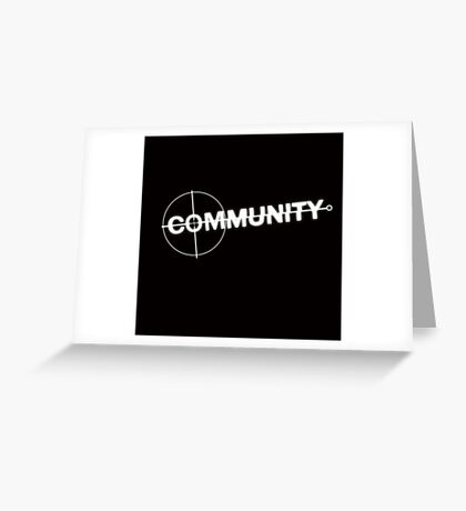 Community: Modern Espionage Greeting Card
