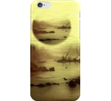 Illusive visions float above my head iPhone Case/Skin