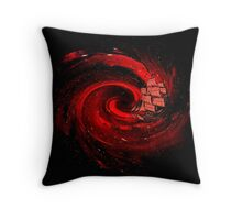 Journey to the Edge of the Universe Throw Pillow