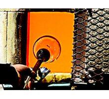 The Art Of Blowing Glass Photographic Print