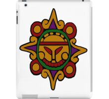 Mayan Alien Sun iPad Case/Skin