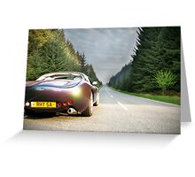 TVR - Just Drive Greeting Card