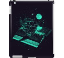 Crossing the Rough Sea of Knowledge iPad Case/Skin