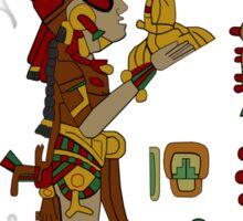 Mayan Urn Offering Sticker