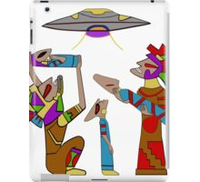Mayan Alien Offering iPad Case/Skin