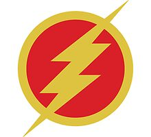 Flash TV emblem by averagejoeart