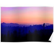 Rainbow Sunset Poster