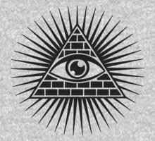 Eye Of Providence - All Seeing Eye Of God - Symbol Omniscience T-Shirt