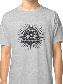Eye Of Providence - All Seeing Eye Of God - Symbol Omniscience Classic T-Shirt