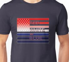 Red White and Blue Unisex T-Shirt