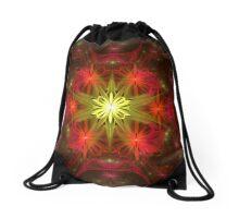 Flower Stretch Drawstring Bag