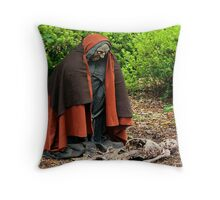 Cypress Gardens - Halloween Night Throw Pillow