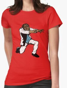 Disco Chimp Womens Fitted T-Shirt