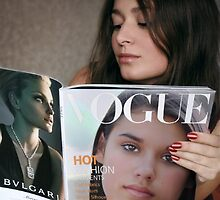 Granddaughter Makes Cover of Vogue! by Dyle Warren