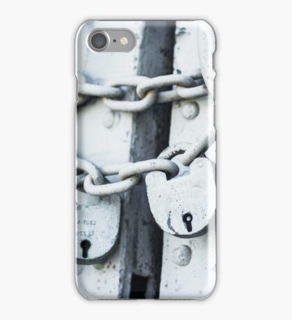Twin Locks iPhone Case/Skin