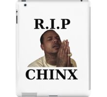 RIP CHINX iPad Case/Skin