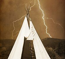 TeePee Lightning by Bo Insogna