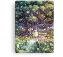 Totoro's Paradise Canvas Print