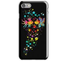 Love Fish, Bubbles, Hearts, Water, iPhone Case/Skin