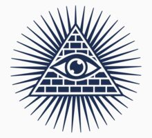 Eye Of Providence - All Seeing Eye Of God - Symbol Omniscience Kids Clothes