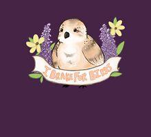 I break for birds ♥ Womens Fitted T-Shirt