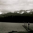 Cold Wallowa Lake by Levi Edvalson