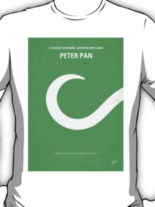 No248 My PETER PAN minimal movie poster T-Shirt
