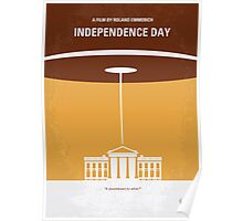 No249 My INDEPENDENCE DAY minimal movie poster Poster