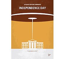No249 My INDEPENDENCE DAY minimal movie poster Photographic Print