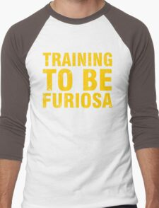 Training to be Furiosa - Mad Max Fury Road Men's Baseball ¾ T-Shirt