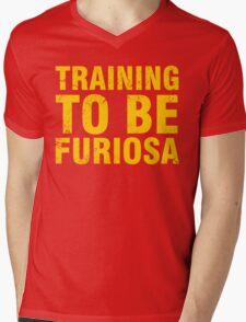 Training to be Furiosa - Mad Max Fury Road Mens V-Neck T-Shirt