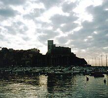 Castello di Lerice, Liguria, Italy by Igor Pozdnyakov