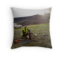 Strathewen Smoko Throw Pillow