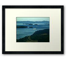 A Sea of Islands Framed Print