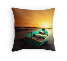 HERE I REST  Throw Pillow
