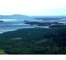 Southern Gulf Islands Photographic Print