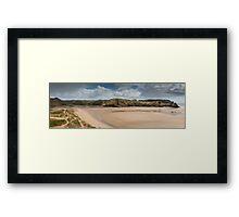 Three Cliffs Bay Gower Framed Print