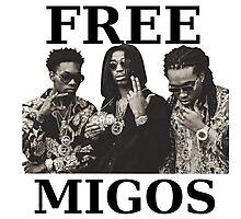 FREE MIGOS Photographic Print