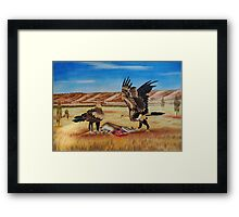 Deadly Duo Framed Print
