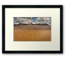 Three Cliffs Bay Swansea Framed Print