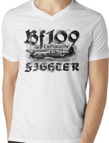 Bf 109 Mens V-Neck T-Shirt