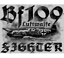 Bf 109 Photographic Print