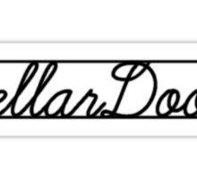 """Donnie Darko """"Cellar Door"""" Sticker"""