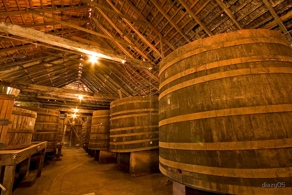 Tahbilk Winery by Di Jenkins