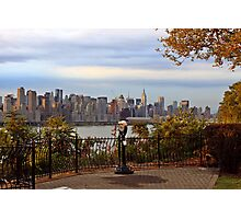 Lookout point Weehawken N J Photographic Print