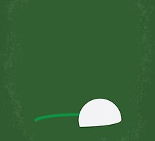 No256 My Happy Gilmore minimal movie poster by JiLong