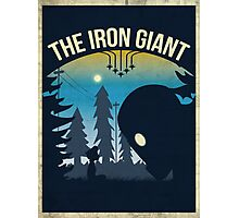 The Iron Giant Photographic Print