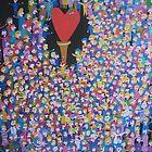 Heart in the Middle by Detlev  Jurkuhn