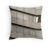 A lovely day in Margate  Throw Pillow
